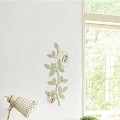 YAMAZAKI 壁飾收納 藤蔓造型-綠