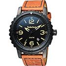 Timberland Cranston 極限玩家特別版套錶-黑x咖啡/48mm