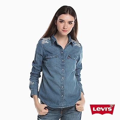 牛仔襯衫 女裝 花紋刺繡 - Levis