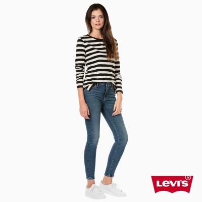 牛仔褲 高腰 721 緊身窄管 彈性布料 - Levis