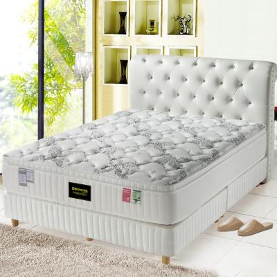 MG珍寶-最高等級天絲棉-乳膠抗菌硬式獨立筒床墊-單人3-5尺