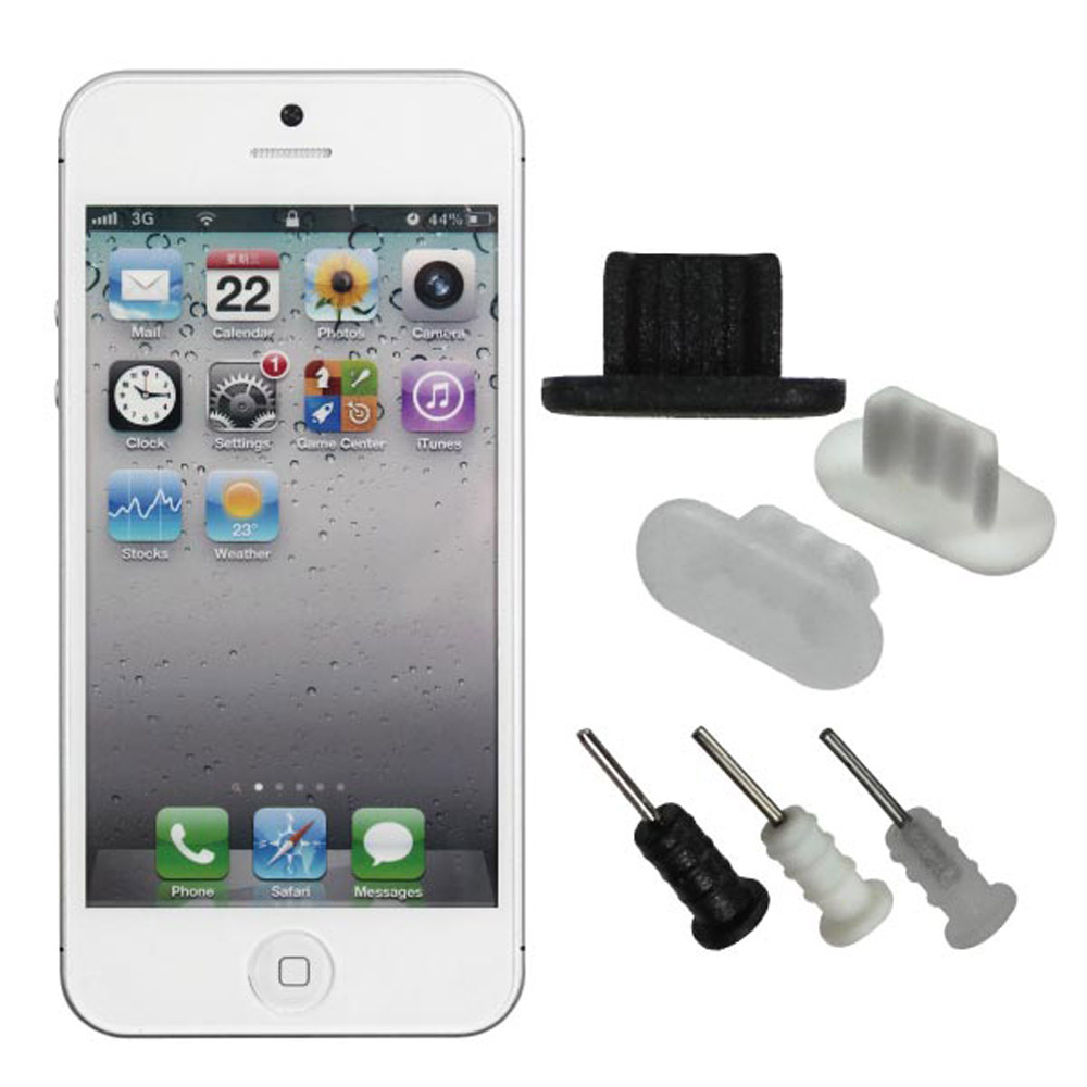 ZIYA iPhone-5 防塵孔塞組合 - A