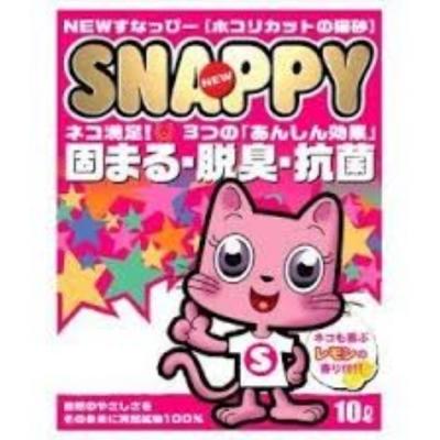 SNAPPY 清新檸檬香貓砂《細砂》10L