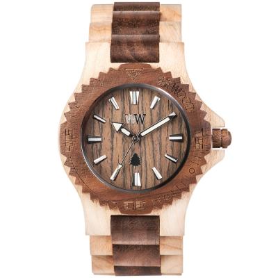 WEWOOD 義大利木頭錶 DATE BEIGE NUT-45mm