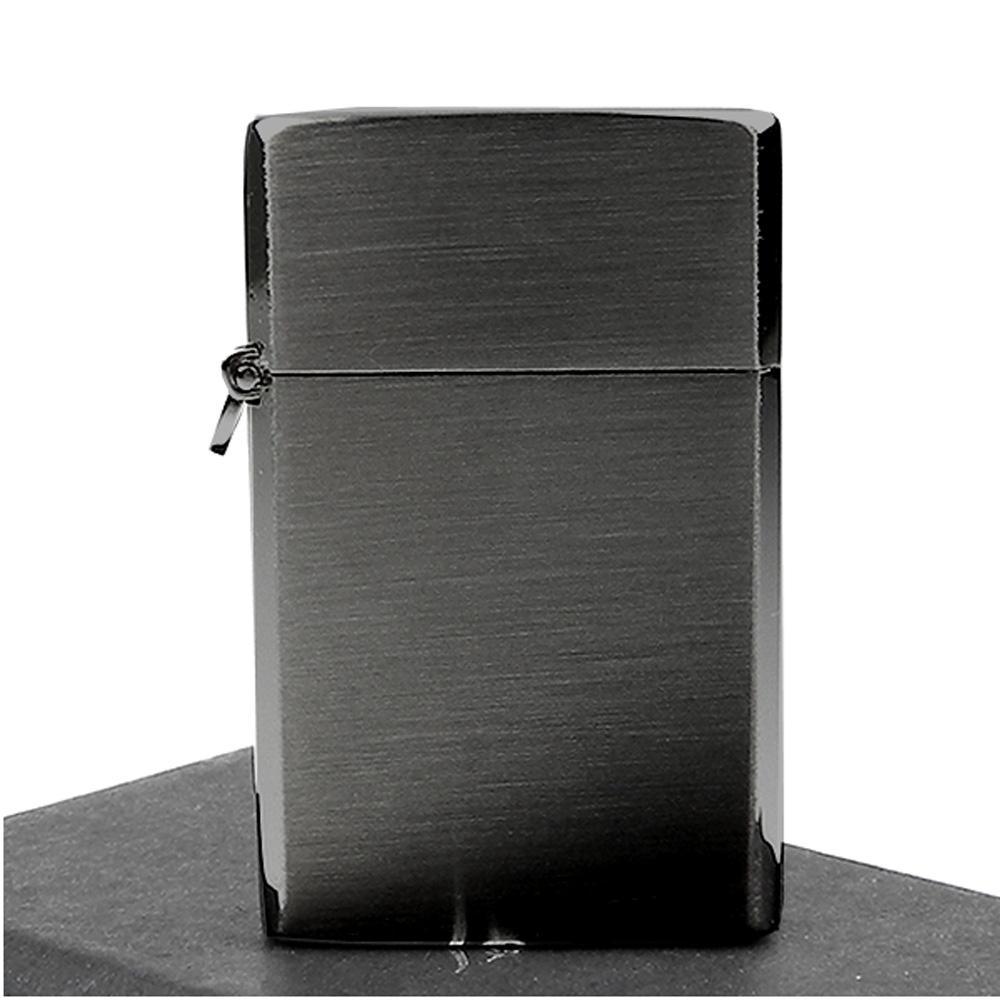 【Pearl 珍珠】Square Mini-超迷你方塊形瓦斯打火機-黑鎳款