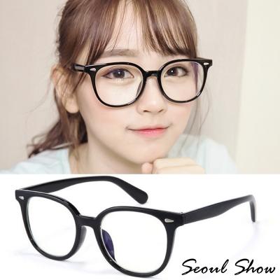 Seoul-Show-韓風清新平光眼鏡-1422黑