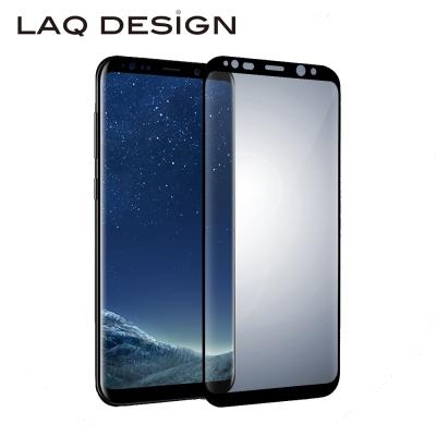 LAQ Samsung Galaxy S8+ 鋼化玻璃保護貼 黑框