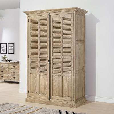 Bernice-諾伊4.7尺白橡全實木衣櫃-142x65x220cm