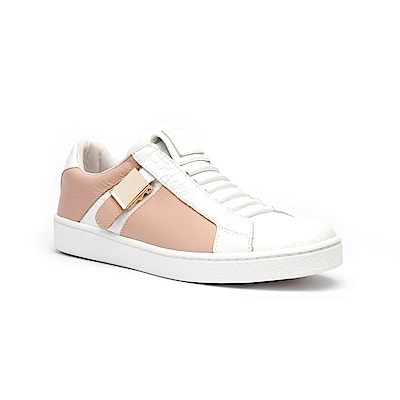 Royal Elastics Icon Blazer玫瑰石英粉真皮時尚休閒鞋(女)
