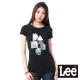 Lee 短袖T恤 紗布拼接幾何圖型印刷 -女
