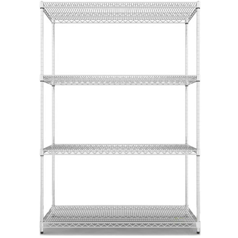 《海克力士》超荷重寬150深45高180-鍍鉻四層鐵櫃