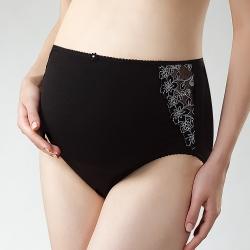 六甲村神秘黑‧高彈性蕾絲孕婦褲/F(2件組)