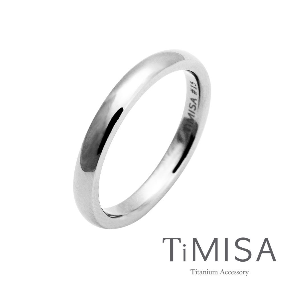 TiMISA《單純》純鈦戒指