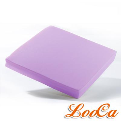 LooCa 吸濕排汗釋壓座墊-紫