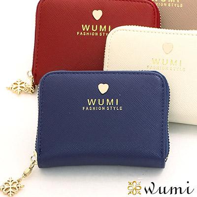 WuMi-無米-蜜拉十字紋卡夾包-共五色
