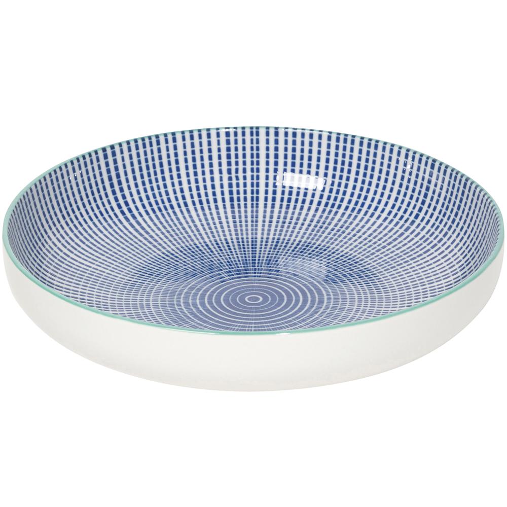 NOW 圓型深餐盤(漣漪藍)