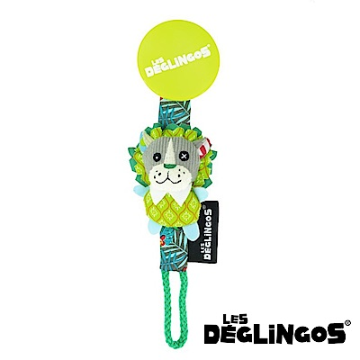 Les Deglingos 立體玩偶奶嘴夾獅子 (JELEKRos)