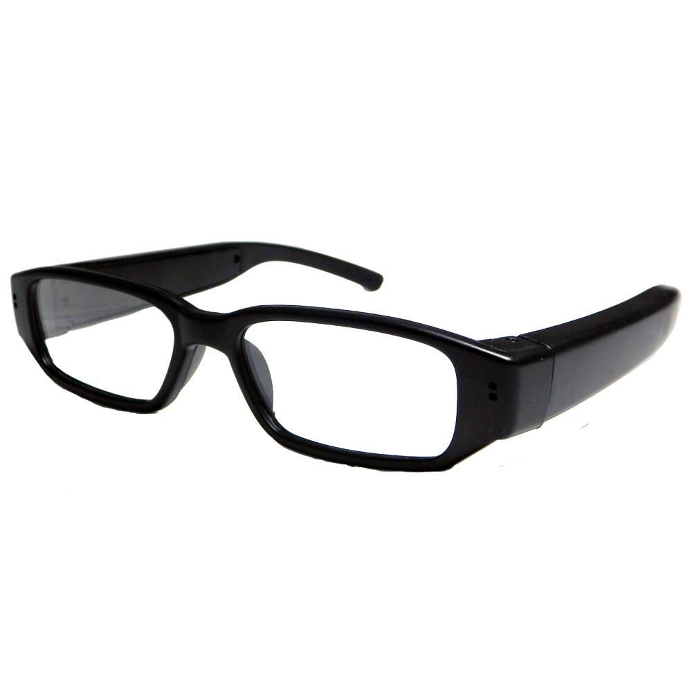 KINGNET HD720P黑框時尚眼鏡造型微型針孔攝影機
