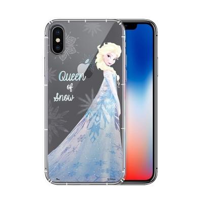 冰雪奇緣展場限定版 iPhone X 空壓殼(艾莎)