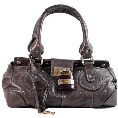 Chloe Paddington bag 經典質感真皮鎖頭包