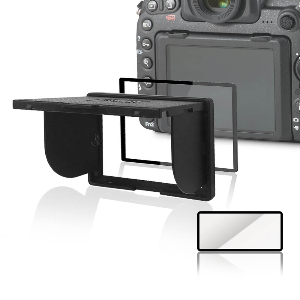 LARMOR V金屬邊框防爆鋼化玻璃相機保護貼-Canon EOS 5DIV