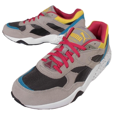 Puma 慢跑鞋 R698 Block 運動 男鞋