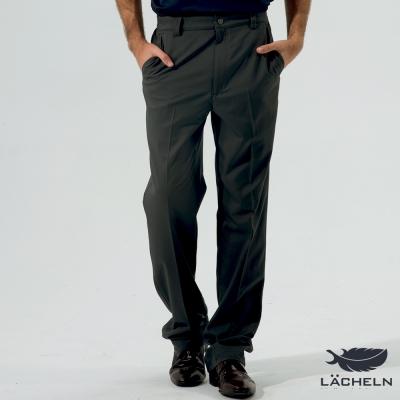 【LACHELN】吸排經典百搭長褲-黑灰(L62M701)