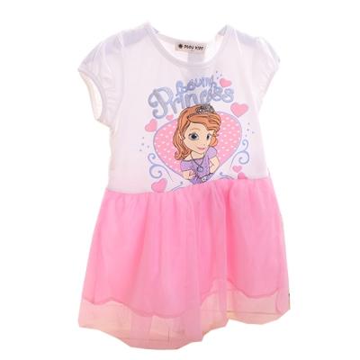 公主粉紗裙洋裝 k50052