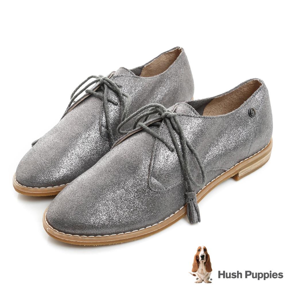 Hush Puppies CHARDON 牛津鞋-金屬灰