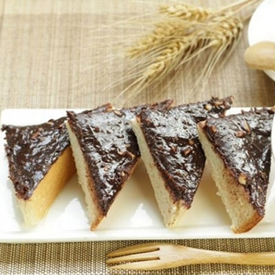 美食村 元氣厚片榛果巧克力(1組2入)