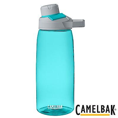 《CAMELBAK》戶外運動水瓶 玻璃藍 1000ml (CB1513402001)