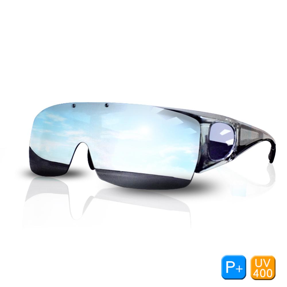 Lafan偏光太陽眼鏡 運動防風可掀式太陽眼鏡(抗UV400/套鏡)