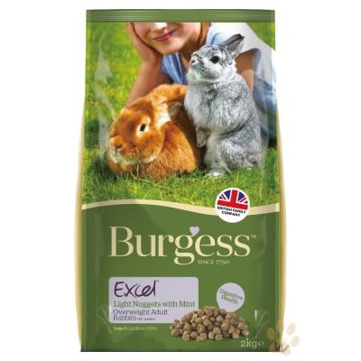 Burgess伯爵 高機能兔飼料-減肥兔2kg 2入