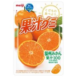 明治 果汁QQ軟糖-溫州蜜柑(51g)