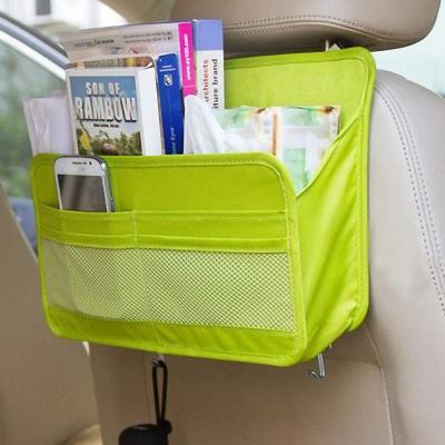 車用多功能收納單層式掛袋