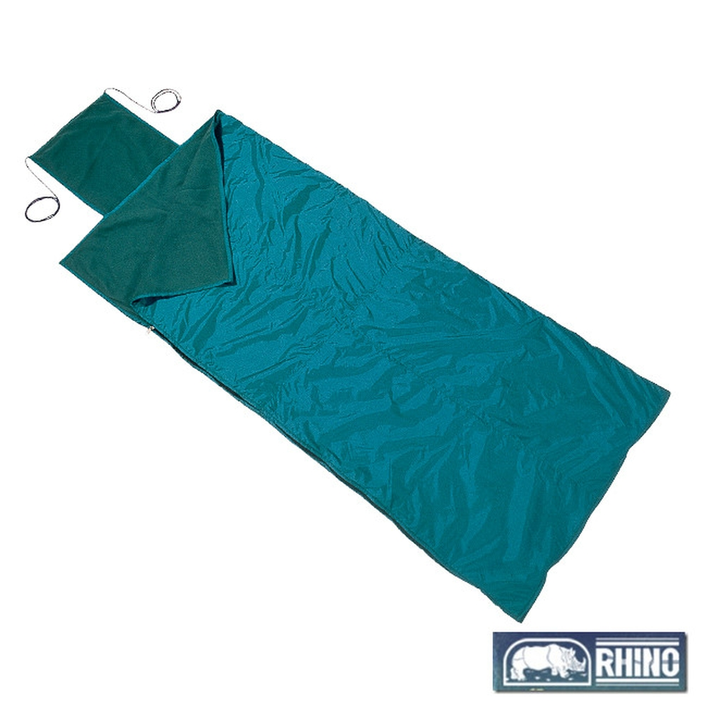【RHINO 犀牛】人造毛毯睡袋(隨機色)