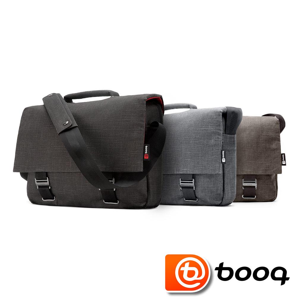 Booq 13吋 Mamba Courier 天然麻電腦信差包