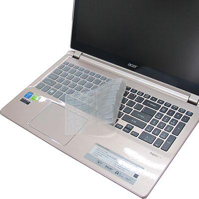 EZstick ACER Aspire V5-573PG 專用奈米銀抗菌TPU鍵盤保護膜