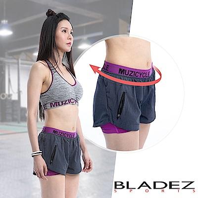 【MUZICYCLE】女款透氣排汗短褲-M