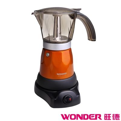 WONDER旺德 義式濃縮咖啡電熱式摩卡壺 WH-L06M