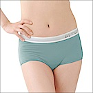BVD Ladies  COTTON BASIC系列 1分平口內褲(綠色)