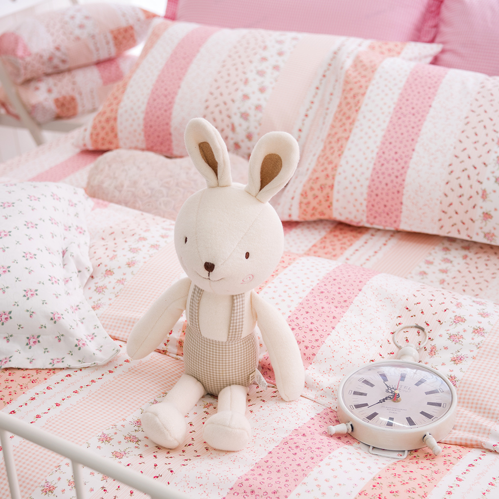 OLIVIA   維多利亞 粉  特大雙人床包枕套三件組