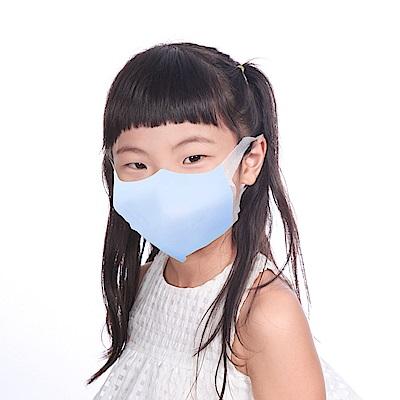 順易利-台灣製-3D立體兒童(S)醫用口罩50片/盒-藍(一盒)