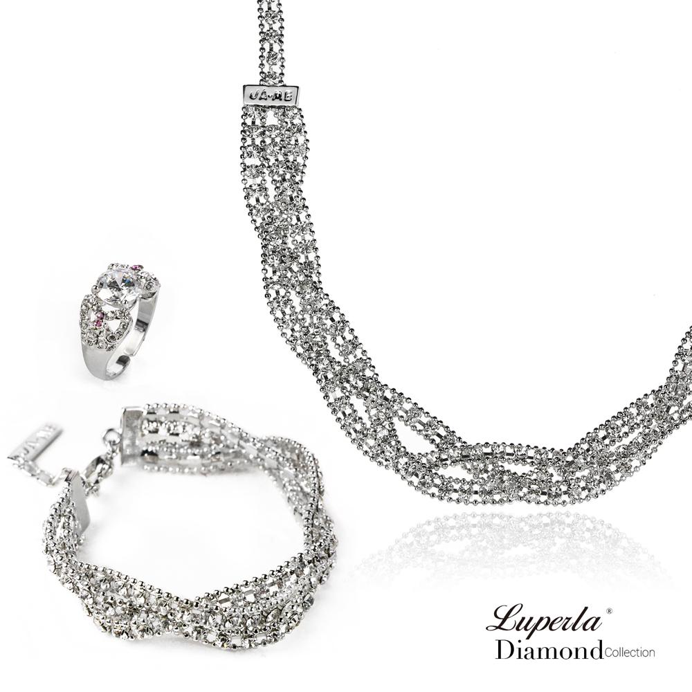 大東山珠寶-纏綿 項鍊手鍊戒指套組