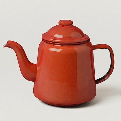 Falcon 英國 獵鷹琺瑯 下午茶壺 紅