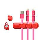 COTEetCI 傳輸線磁吸收納器/集線器 適用充電線 傳輸線 耳機