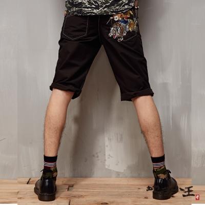 地藏小王 BLUE WAY 丹虎地藏短褲-墨綠