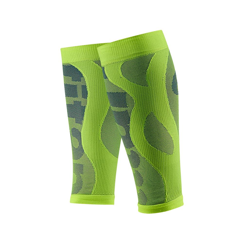 【Titan】太肯壓力小腿套__螢光綠(適合慢跑、馬拉松、自行車、球類運動)