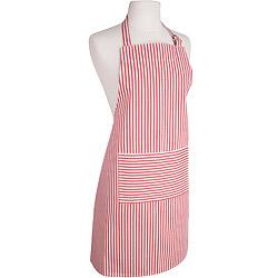NOW 平口單袋圍裙(水手紅)