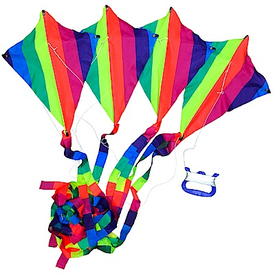 凡太奇 MIT台灣製造 彩色多節串聯風箏